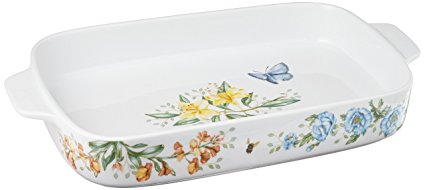 Lenox Butterfly Meadow Rectangular Baker