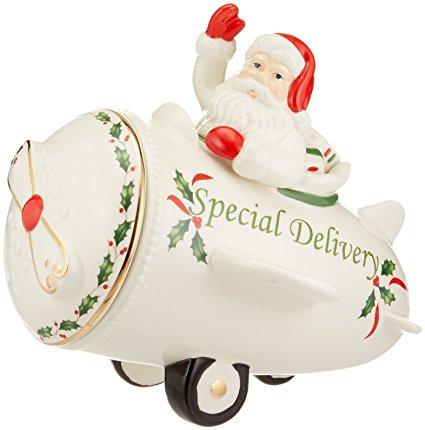 Lenox Countdown to Christmas Cookie Jar, Ivory