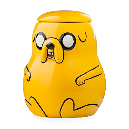 Adventure Time Ceramic Cookie Jar