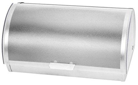 KOVOT Stainless Steel Roll Top Bread Box | Bread Holder And Bread Storage Bin | 15 3/8 L x 7 3/8 H x 10 1/8 W