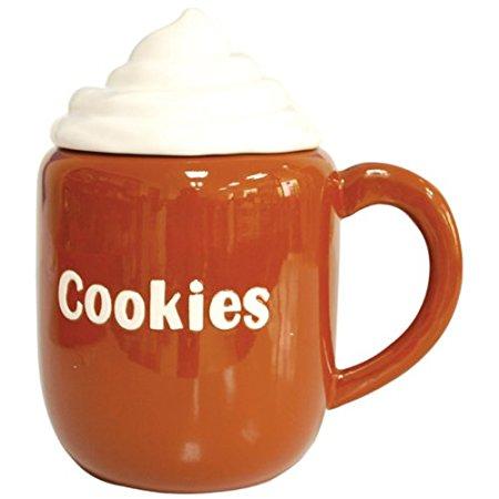 Westland Giftware Kookie Jars Cocoa Cookie Jar, 9-1/2-Inch