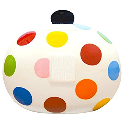 Coton Colors Happy Everything Cookie Jar, Mini, Bright Dot