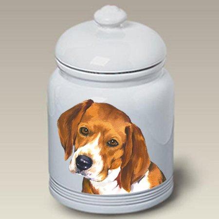 Beagle - Barbara Van Vliet Ceramic Treat Jars