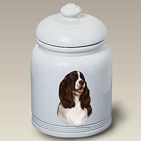 Springer Spaniel L/W - Tamara Burnett Treat Jars
