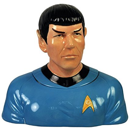 Westland Giftware Star Trek Spock Cookie Jar, 8