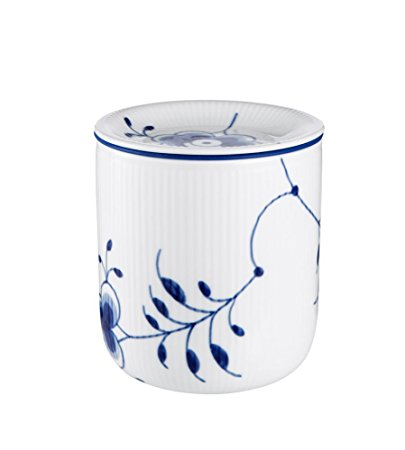 Royal Copenhagen Blue Fluted Storage Jar Medium 5 Inches