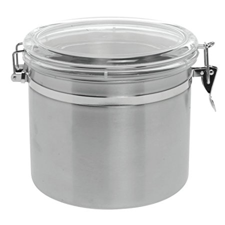 Stainless Steel Canister with Air Tight Lid 145oz 8