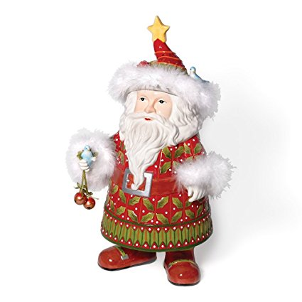 Department 56 Krinkles Santa Cookie Jar