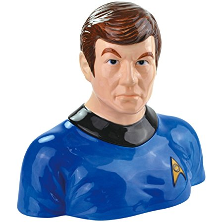 Westland Giftware Ceramic Cookie Jar, 10-Inch, Star Trek Dr. Mc Coy