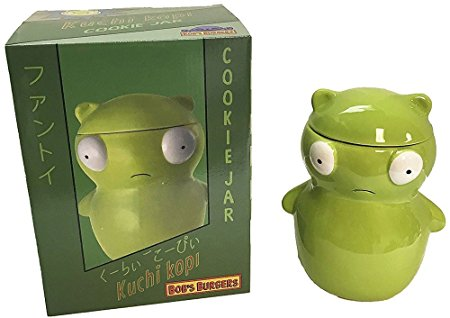 Bobs Burgers Jumbo Kuchi Kopi Cookie Jar Toy - Exclusive