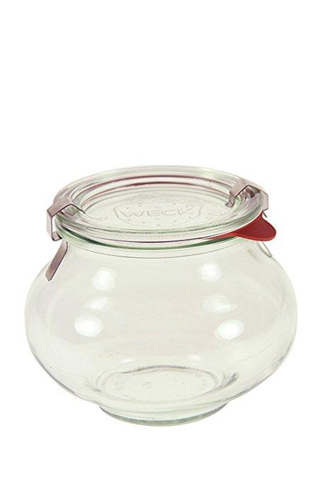 Weck 901 Deco Jar - .5 Liter, Set of 6