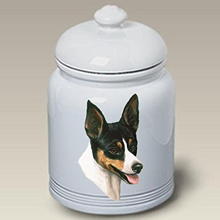 Rat Terrier: Ceramic Treat Jar 10