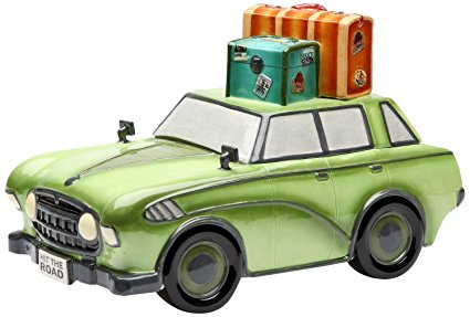 Appletree Design Road Trip Car Cookie Jar, 7-5/8-Inch