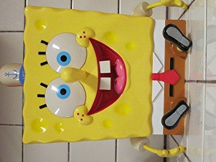 Nickelodeon Spongebob Squarepants Talking Cookie Jar