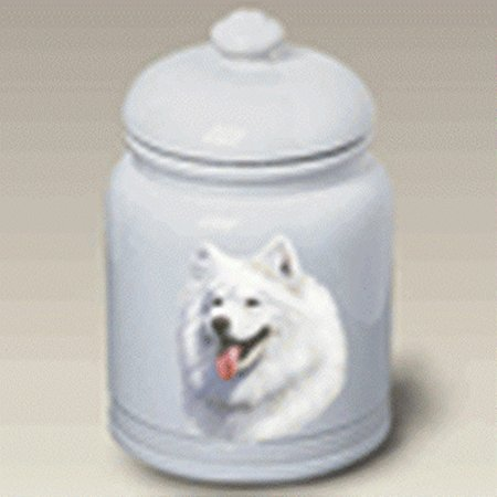 Samoyed: Ceramic Treat Jar 10