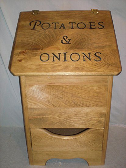 potatoe and onion bin regular style now with black letters
